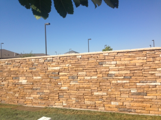 brick wall in wichita